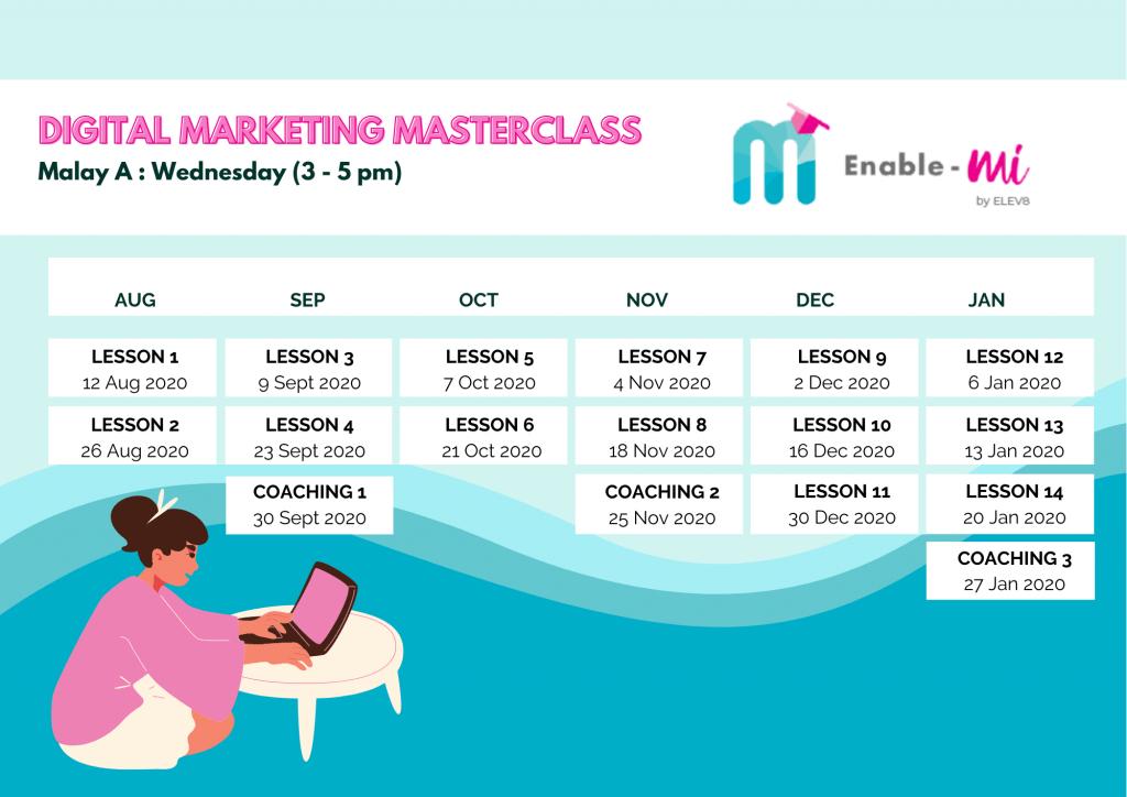 Digital Marketing Masterclass by Elev8 & redONE