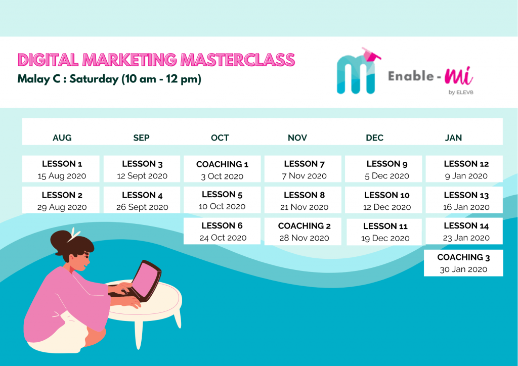 Digital Marketing Masterclass by Elev8 & redONE
