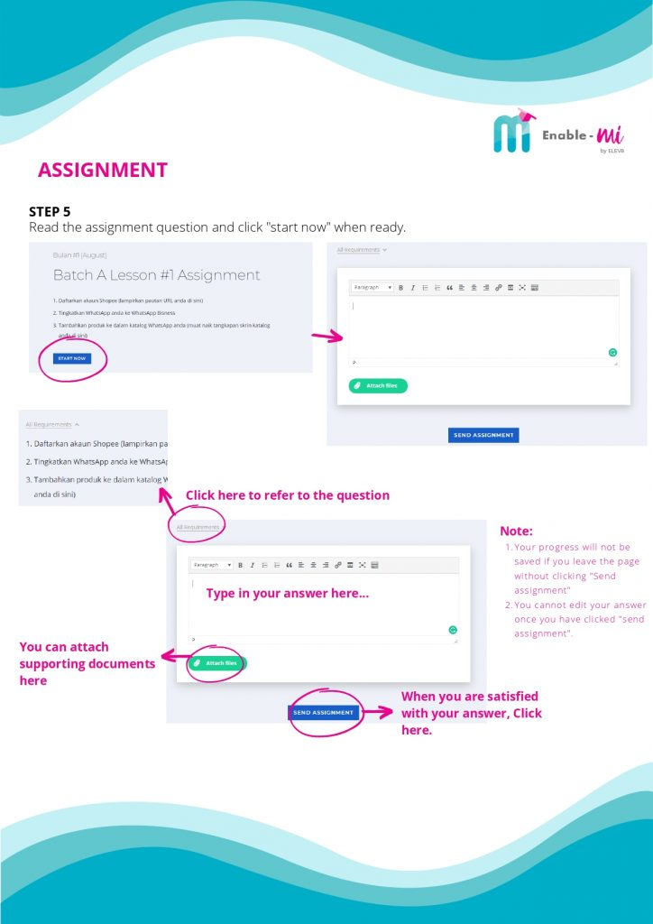 Enable-mi Quizzes Assignments 03
